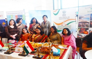 Embassy of India participated at the 8th International Festival being celebrated at ADA University, Baku on 18 April 2019.