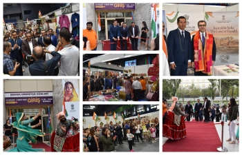 Best of India- 6th edition of Biggest Exclusive Indian Product Trade Show- is being organized at Baku Sport Hall near Carpet Museum Baku from 30 August 2019 till 08 September 2019 from 1100 hrs to 1900 hrs .