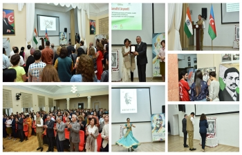 Embassy of India, Baku celebrated 150th birth anniversary of Mahatma Gandhi