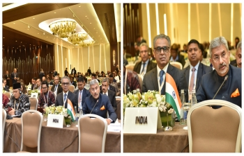 Hon'ble EAM attends the NAM Ministerial Meeting in Baku.