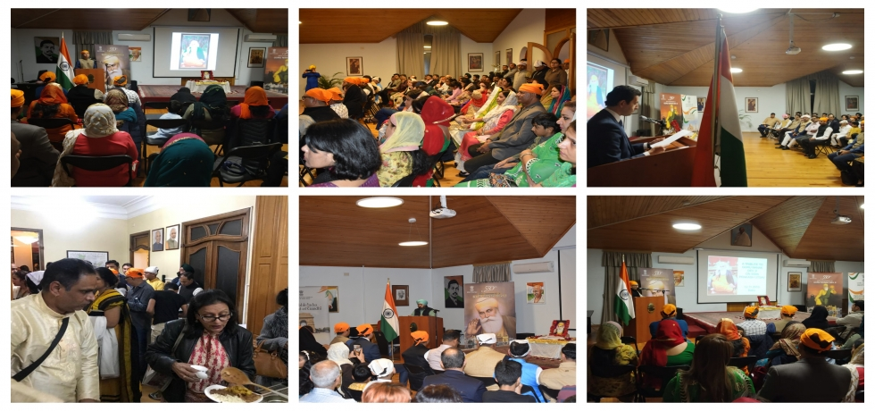 #GuruNanak550 Jayanti celebrated by the Embassy