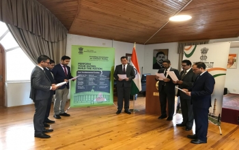 Constitution Daywas celebrated by the Embassy of India, Baku