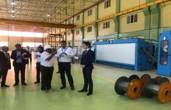 Embassy of India, Baku along with Business Delegation led by FIEO and PHD Chamber Of Commerce and Industry visited Sumgayit Chemical Industry Park