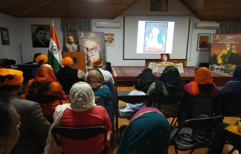 #GuruNanak550 celebrated by Embassy amidst good congregation.