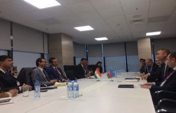 CII Business Delegation met with H.E. Mr. Elnur Soltanov, Deputy Minister of Ecology of the Republic of Azerbaijan to discuss business opportunities.