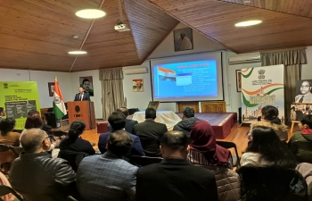 "As part of the series of events on ""Constitution Day and Campaign on  Citizens' Duties"" , Embassy of India in Baku organized a Talk on Fundamental Duties."
