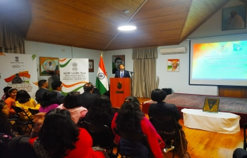 Ambassador addressed Indian diaspora in Azerbaijan on the occasion of celebration of Pravasi Bharatiya Diwas 2020. Diaspora members also expressed their views on the occasion.
