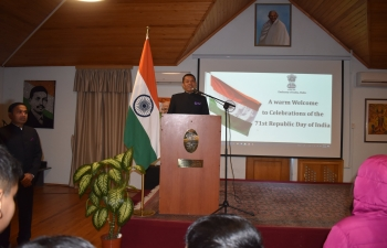 Embassy of India in Baku celebrates 71st Republic Day of India