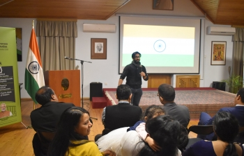 During Campaign on Citizens' Duties, Embassy of India in Baku screened second episode of 'Samvidhan'-Making of Constitution