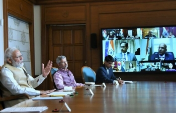 Prime Minister's video conference with the Heads of Indian Missions