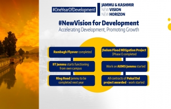 Dawn of A New Era of Peace, Progress & Prosperity in Jammu, Kashmir and Ladakh