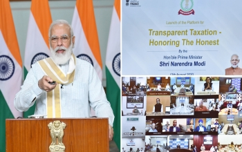 "PM launches platform for ""Transparent Taxation – Honouring the Honest"""