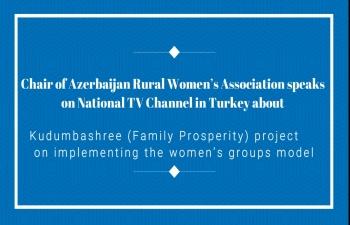Kudumbashree (Family Prosperity) project Assistance in Azerbaijan