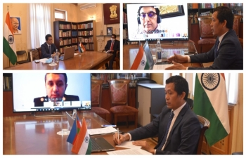"An Interactive Video Conference on ""India-Azerbaijan Business Promotion, Challenges and Opportunities – Post COVID19"" was organized with PHDCCI, AZPROMO and ASK Group, Azerbaijan on 07 May 2020"