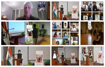 Grand Finale of 150th Birth Anniversary of Mahatma Gandhi Observed by the Embassy of India, Baku