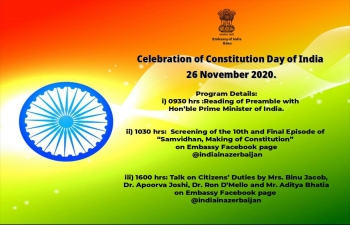 Celebration of #Constitution Day  of India