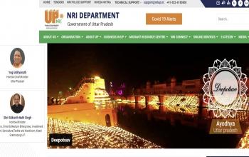 NRI Department, Govt of Uttar Pradesh, INDIA:- Website: https://nri.up.gov.in/