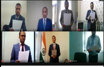 Embassy of India, Baku observed the #AntiTerrorismDay on 21st May 2021