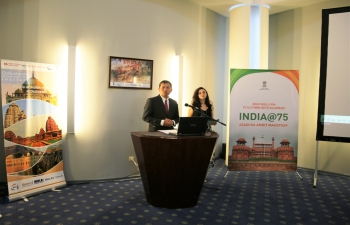 As part of celebrations of Azadi ka Amrit Maotsav, India@75, an exhibition depicting 16 heritage sites of India was inaugurated at Gobustan National Historical Scientific Preserve