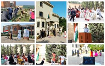 #AmritMahotsav:- Embassy of India, Baku celebrated #75thIndependenceDay