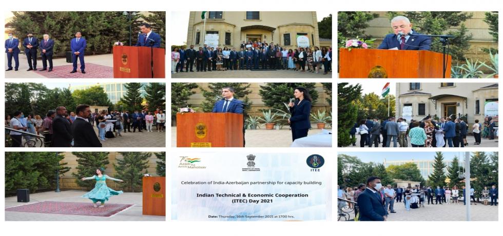 Celebration of ITEC Day by Embassy of India, Baku